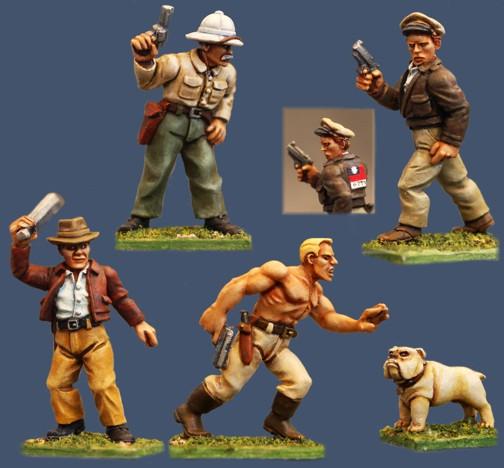 pulp figures catalogue