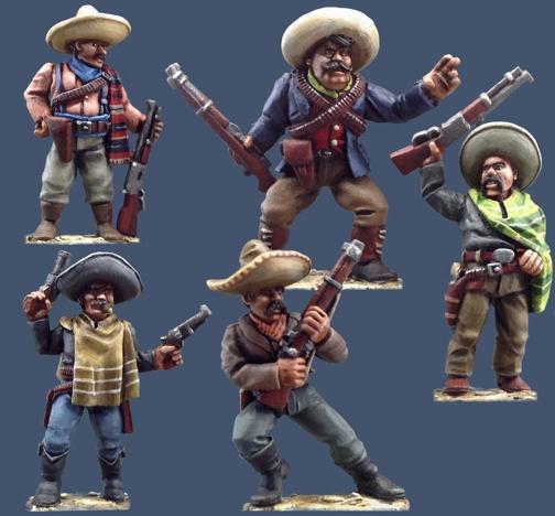 Pulp Figures - Mexican Revolution range  Pmx1