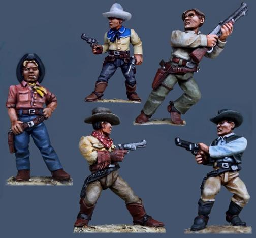 Pulp Figures - Mexican Revolution range  Pmx2