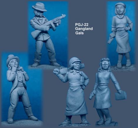 Pulp figures, dangerous dames Pgj22bwx470